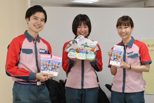 Staff of Tokyo Dome City Attractions Smile Counter・Computer_3