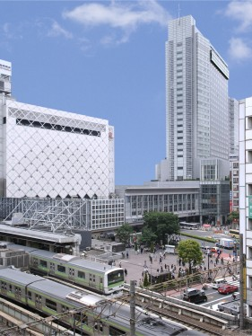 Exterior view of SHIBUYA EXCEL HOTEL TOKYU