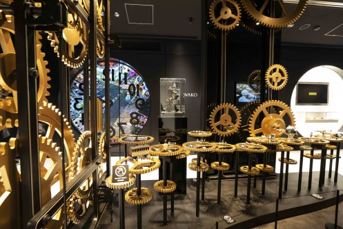 Exhibition of SEIKO DREAM SQUARE